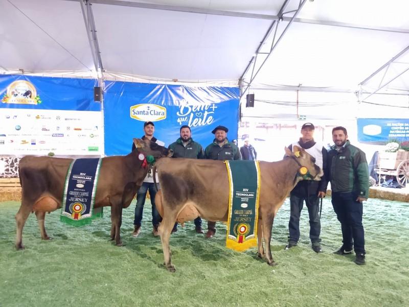 Clientes BrVet vencem torneio de gado leiteiro na XIV TECNOCLARA